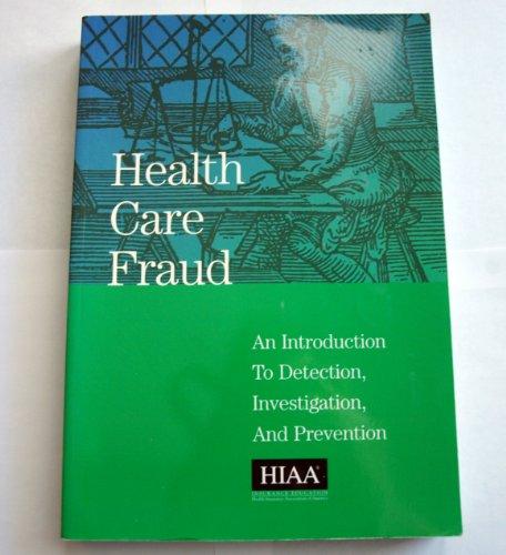 9781879143548: Health Care Fraud
