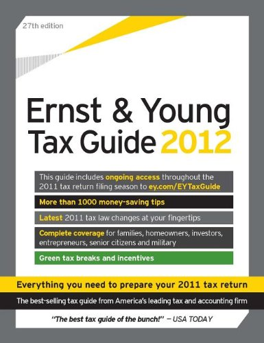 The Ernst & Young Tax Guide 2012: LLP Ernst &