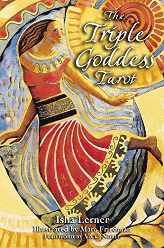 Triple Goddess Tarot (Paperback): Isha Lerner