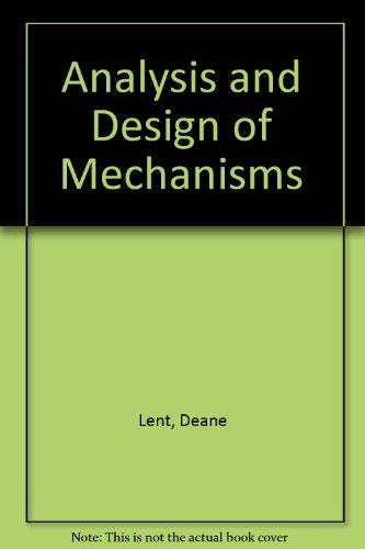 9781879215146: Analysis and Design of Mechanisms