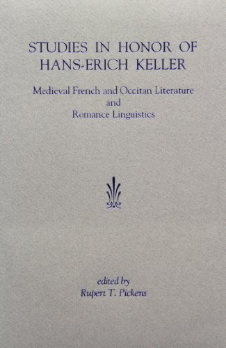 9781879288225: Studies in Honor of Hans-Erich Keller: Medieval French and Occitan Literature and Romance Linguistics