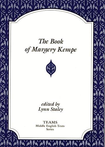 9781879288720: The Book of Margery Kempe (TEAMS Middle English Texts)