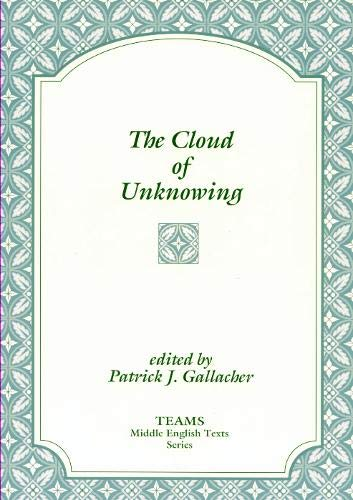 9781879288898: The Cloud of Unknowing (TEAMS Middle English Texts Series)