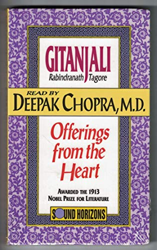 Gitanjali: Offerings from the Heart/Audio Cassettes: Tagore, Rabindranath