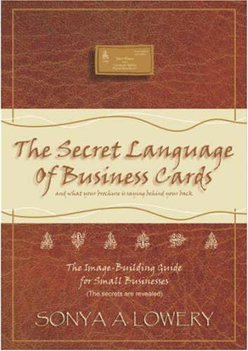 9781879355286: The Secret Language Of Business Cards