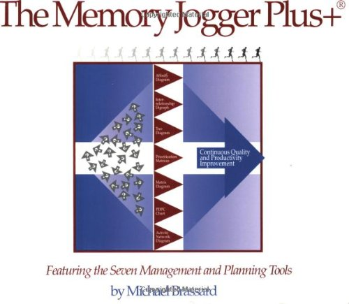 9781879364837: The Memory Jogger Plus + Featuring the Seven Management and Planning Tools