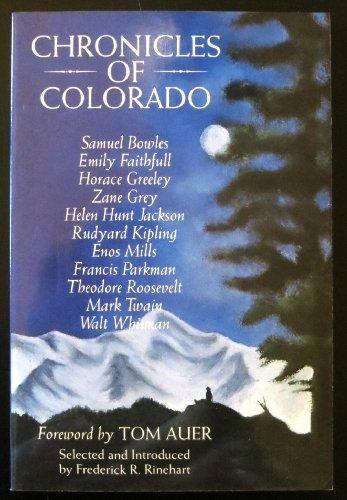 9781879373655: Chronicles of Colorado