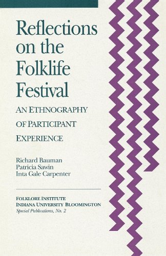 9781879407039: Reflections on the Folklife Festival: An Ethnography of Participant Experience (Special Publications of the Folklore Institute, Indiana University)