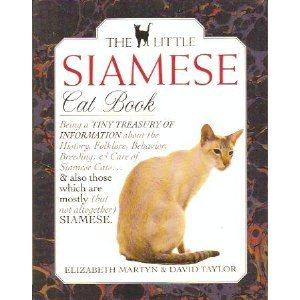 The Little Siamese Cat Book.