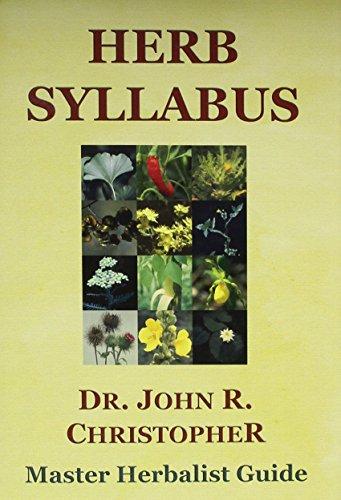 9781879436169: Herb Syllabus (First Printing)