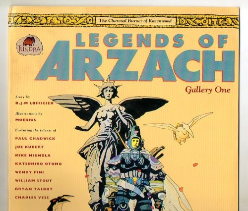 Legends of Arzach Gallery 1: The Charcoal Burner of Ravenwood (1879450216) by Moebius; Paul Chadwick; Katsuhiro Otomo; Charles Vess
