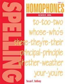 9781879478145: Homophones Resource Book