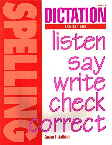 9781879478213: Dictation Resource Book (teacher ed)