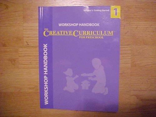 9781879537729: Workshop Handbook (The Creative Curriculum For Preschool)