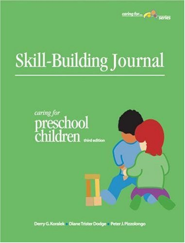 9781879537774: Skill-Building Journal: Caring For Preschool Children