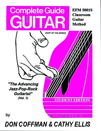 The Advancing Jazz-Pop-Rock Guitarist (Vol. 1): Coffman, Don; Webb, John; Ellis, Cathy