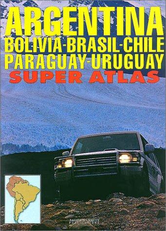 9781879568884: Argentina/Bolivia/Brazil/Chile/Paraguay/Uruguay Super Atlas