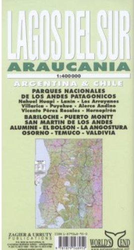 9781879568952: Lagos Del Sur Araucania Map: Bariloche, Puerto Montt, Nahuel Huapi, Andes Patagonicos