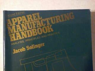 9781879570009: Apparel Manufacturing Handbook: Analysis, Principles and Practice