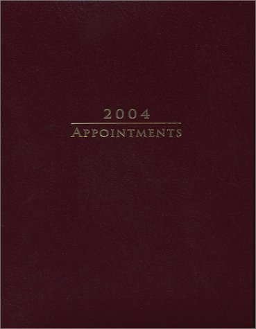 9781879582651: 2004 Appointment Book (Engagement Calendar)