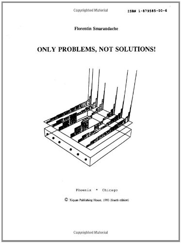 9781879585003: Only problems, not solutions!