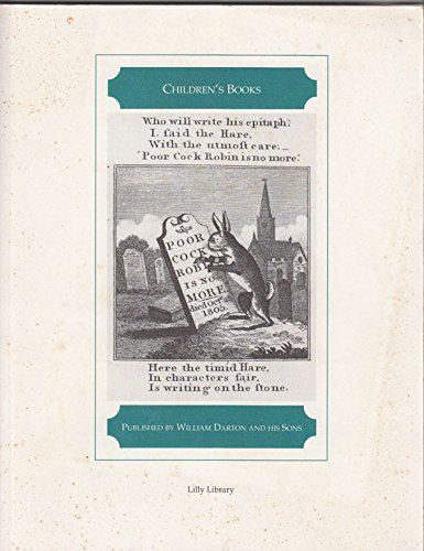 Children's Books: Published by William Darton and His Sons: David, Linda