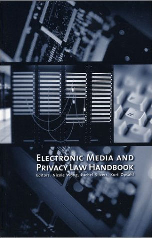 9781879650114: Electronic Media and Privacy Law Handbook (Out of Print)