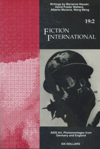 9781879691001: Fiction International 19:2 (Aids Art, Photomontages from Germany and England)