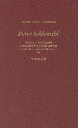9781879751323: Peter Schlemihl (Studies in German Literature, Linguistics, & Culture)
