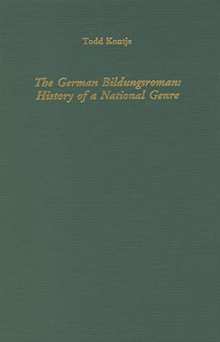 9781879751538: The German Bildungsroman: History of a National Genre (Literary Criticism in Perspective)