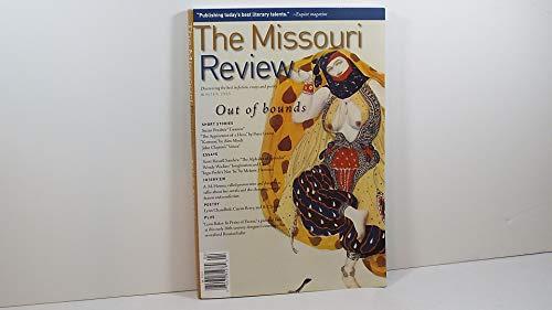 The Missouri Review / Winter 2005 / Volume XXVIII Number 3