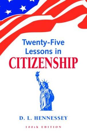 9781879773066: Twenty-Five Lessons in Citizenship
