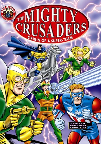 Red Circle Productions- Set of 2 Graphic Novels: The Mighty Crusaders Origin of A Super-Team, The...