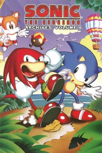 Sonic The Hedgehog Archives, Vol. 4: Mike Gallagher, Angelo