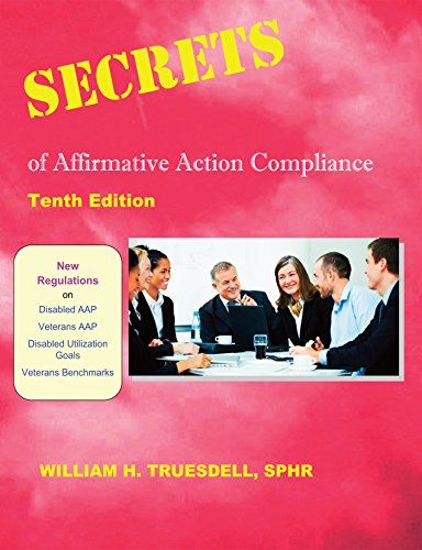 9781879876552: Secrets of Affirmative Action Compliance (10th Ed)