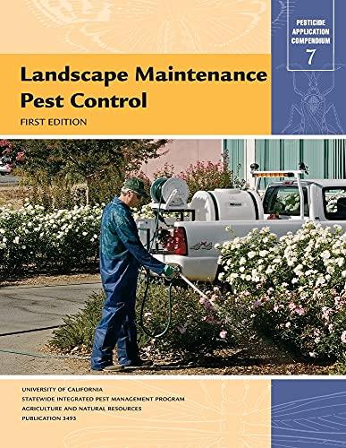 9781879906716: Landscape Maintenance Pest Control (Pesticide Application Compendium)