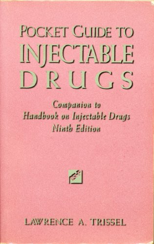 9781879907676: Pocket Guide to Injectable Drugs: Companion to Handbook on Injectable Drugs
