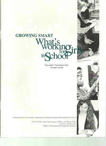 9781879922105: Growing Smart: What's Working for Girls in School