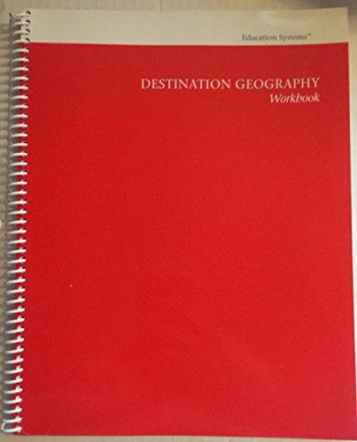 9781879982598: Destination Geography Workbook