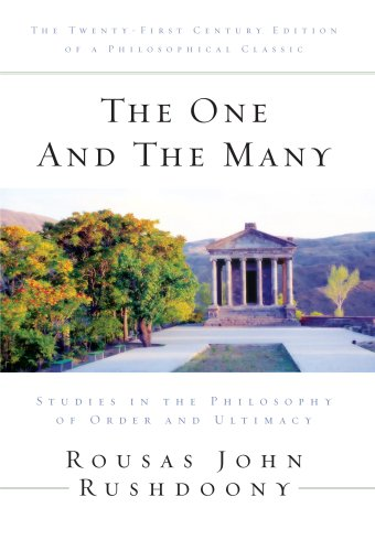 9781879998469: The One and the Many: Studies in the Philosophy of Order and Ultimacy
