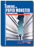 9781880024300: Taming the Paper Monster