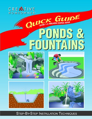 Ponds & Fountains: Step-By-Step Installation Techniques (Quick: Meredith Books; Barrett,