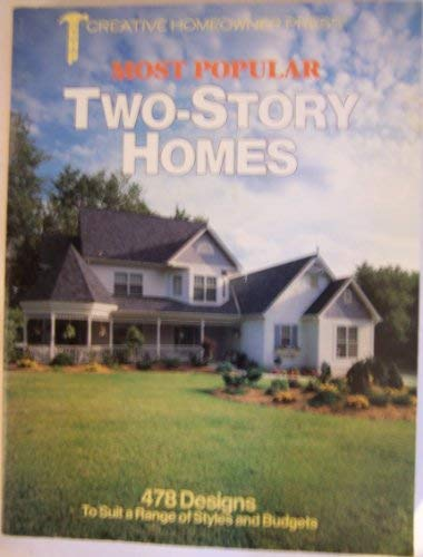 9781880029343: Most Popular Two-Story Homes: 478 Designs to Suit a Range of Styles and Budgets
