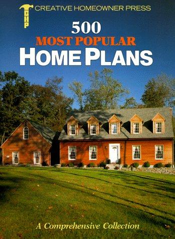 9781880029350: Five Hundred Most Popular Home Plans