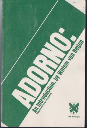 9781880055007: Adorno: An Introduction (Introductory Series)