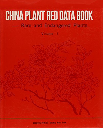 9781880132043: China Plant Red Data Book: Rare and Endangered Plants