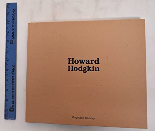 Howard Hodgkin: Hodgkin, Howard: Fenton, James (introductory poem)