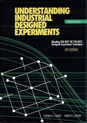Understanding Industrial Designed Experiments: Robert G. Launsby