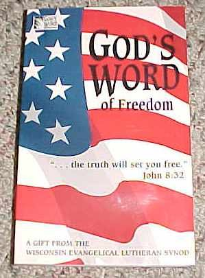 9781880189146: God's Word of Freedom