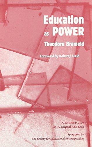 9781880192344: Education As Power